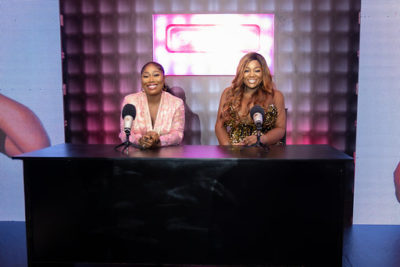 Toolz And Gbemi Dazzle At Their Exclusive Media Event