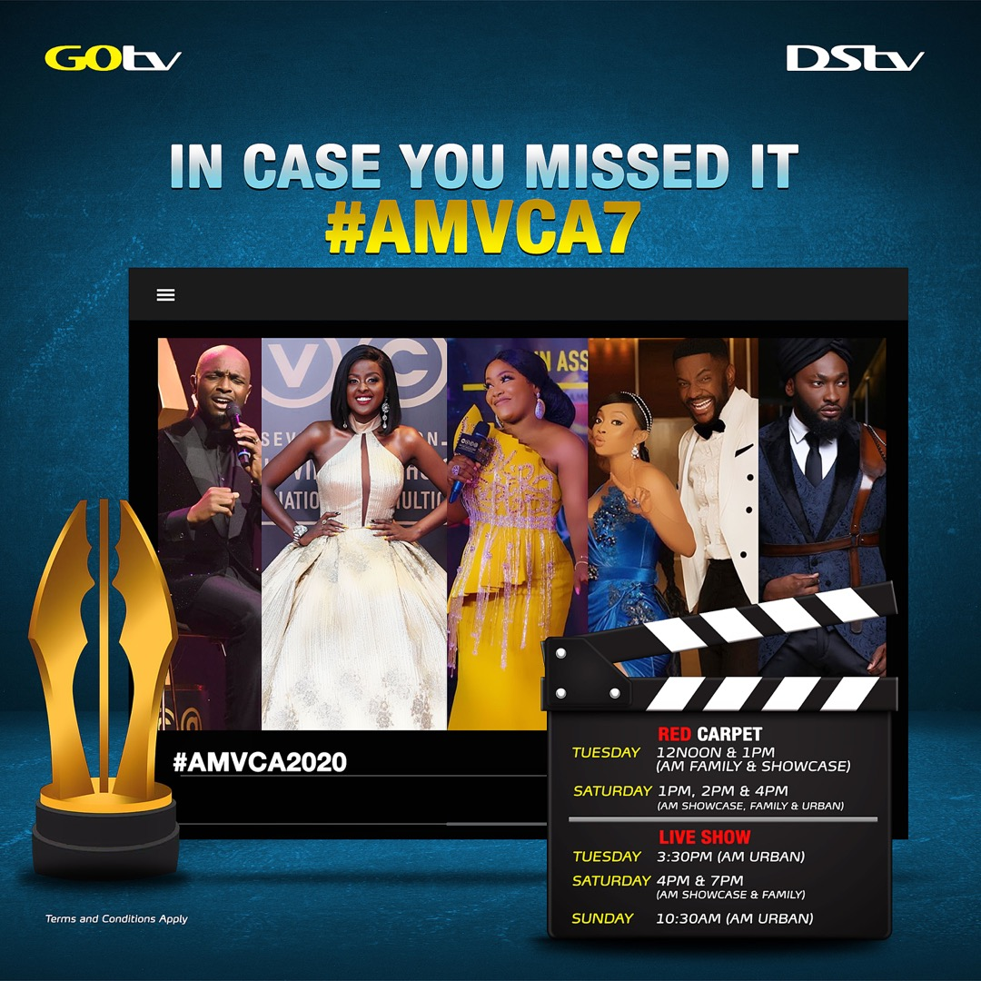 Relive the 7th AMVCAs this Weekend on DStv and GOtv