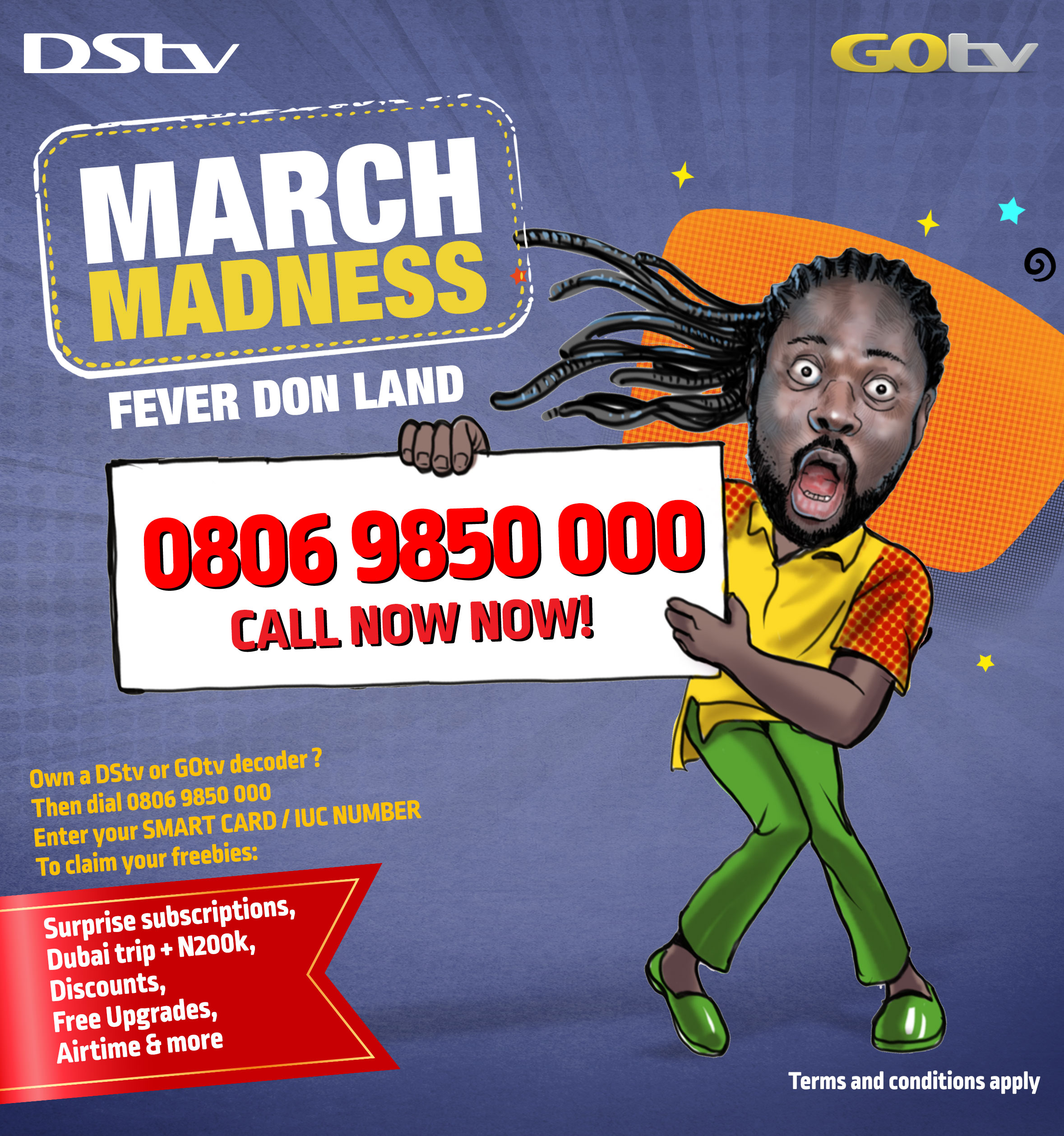 MultiChoice Nigeria Announces March Madness Offer
