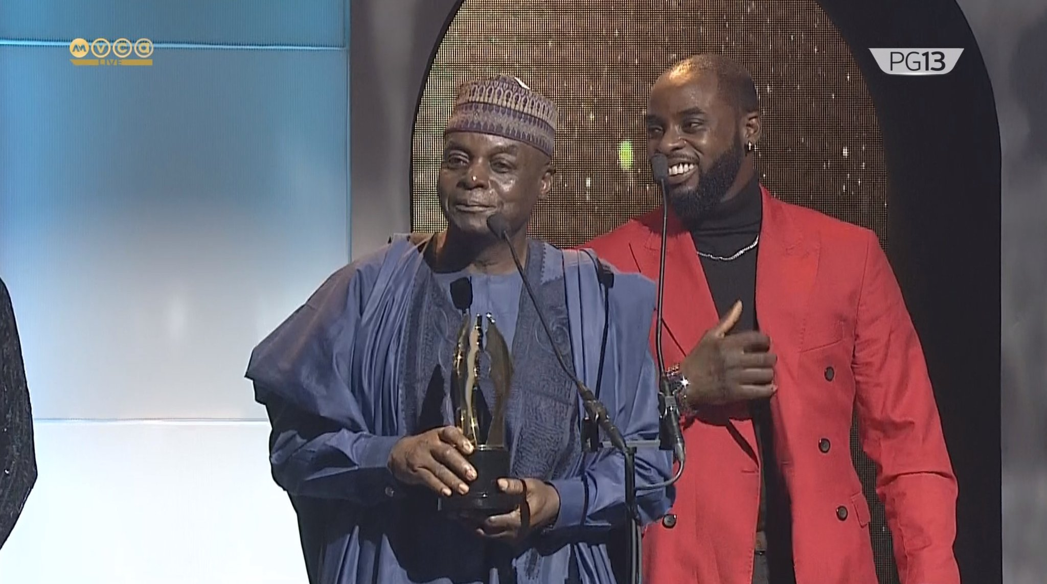 Peter And Tosin Igho: Veteran Broadcaster And Son Make History At AMVCA