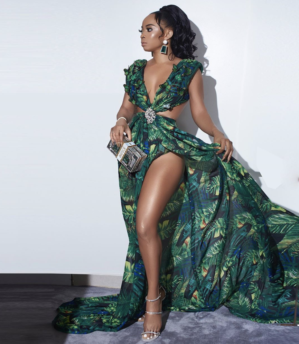AMVCA: How Toke Makinwa Gets Ready For The Most Glamorous Night Of The Year