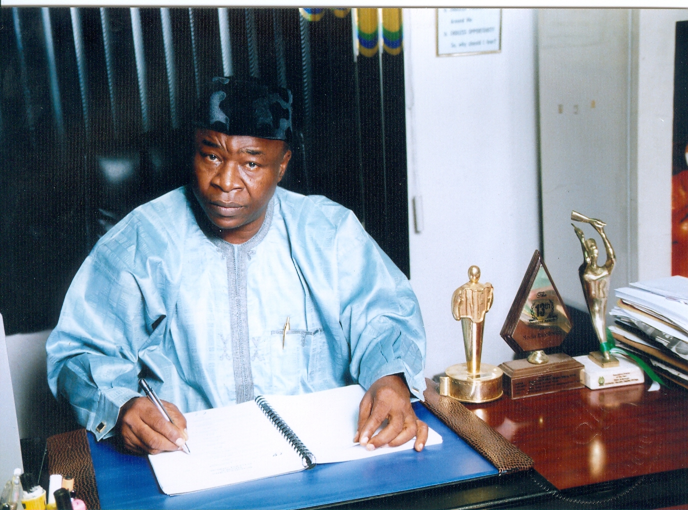 Wale Adenuga: The Tobacco Seller's Son Who Created Two Of Nigeria's Most Famous TV Series