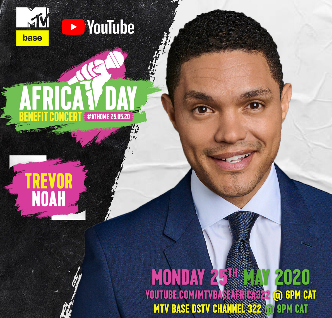 Trevor Noah at the Africa Day Benefit Concert